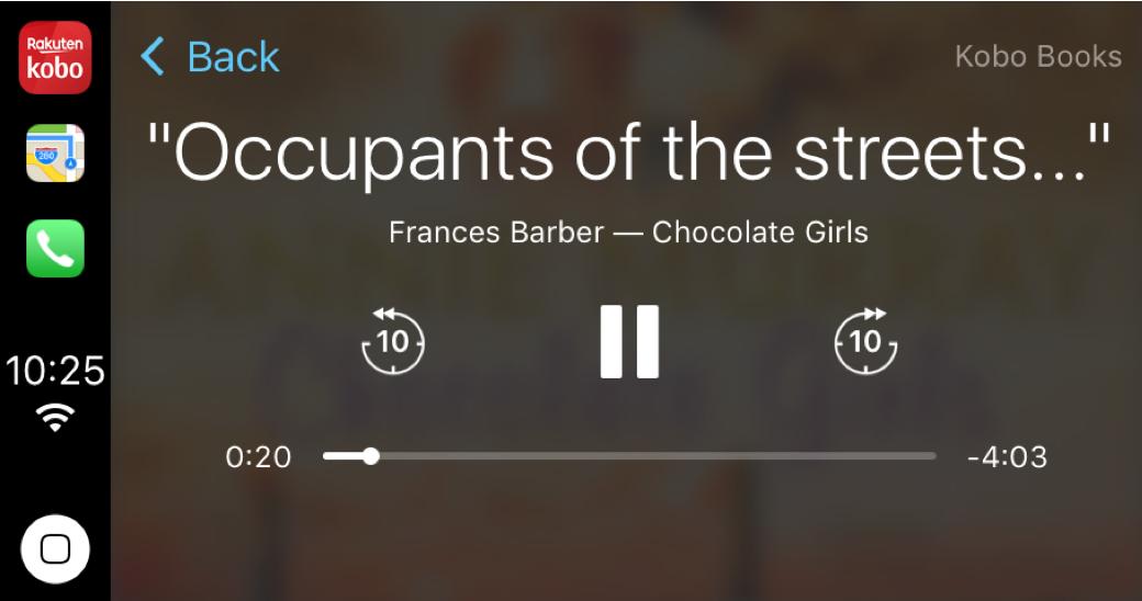 Ecouter Des Livres Audio Avec Apple Carplay Rakuten Kobo